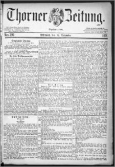 Thorner Zeitung 1877, Nro. 290