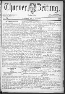 Thorner Zeitung 1877, Nro. 291