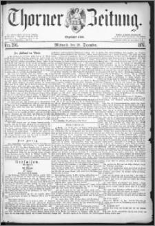 Thorner Zeitung 1877, Nro. 296