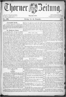 Thorner Zeitung 1877, Nro. 298