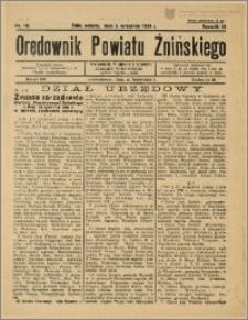 Orędownik Powiatu Żnińskiego 1938 Nr 19
