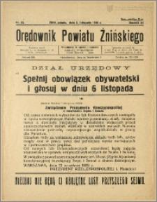 Orędownik Powiatu Żnińskiego 1938 Nr 25