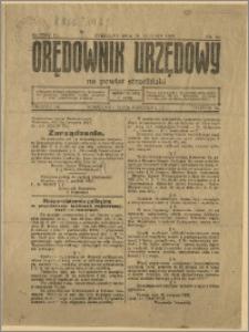 Orędownik Urzędowy na Powiat Strzeliński 1928 Nr 90