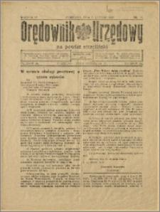 Orędownik Urzędowy na Powiat Strzeliński 1928 Nr 10