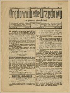 Orędownik Urzędowy na Powiat Strzeliński 1928 Nr 11