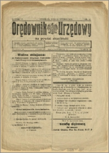 Orędownik Urzędowy na Powiat Strzeliński 1928 Nr 13