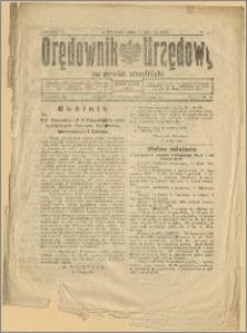 Orędownik Urzędowy na Powiat Strzeliński 1928 Nr 18