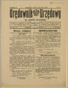 Orędownik Urzędowy na Powiat Strzeliński 1928 Nr 35