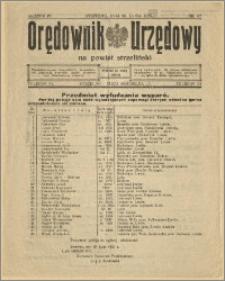 Orędownik Urzędowy na Powiat Strzeliński 1928 Nr 57
