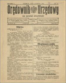 Orędownik Urzędowy na Powiat Strzeliński 1928 Nr 59