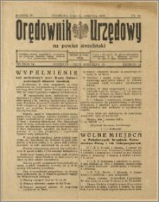 Orędownik Urzędowy na Powiat Strzeliński 1928 Nr 60