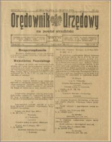 Orędownik Urzędowy na Powiat Strzeliński 1928 Nr 61