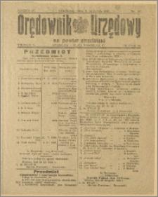 Orędownik Urzędowy na Powiat Strzeliński 1928 Nr 93