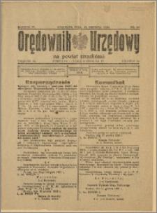 Orędownik Urzędowy na Powiat Strzeliński 1928 Nr 96
