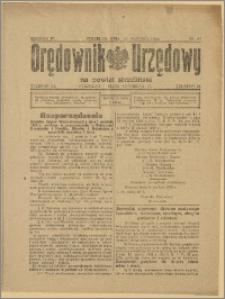 Orędownik Urzędowy na Powiat Strzeliński 1928 Nr 97