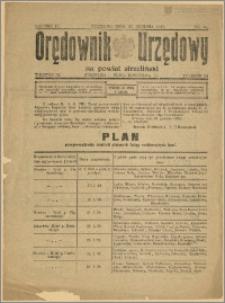 Orędownik Urzędowy na Powiat Strzeliński 1928 Nr 98