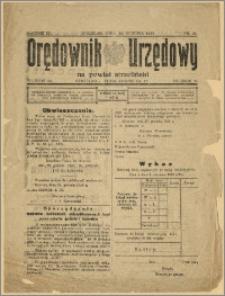 Orędownik Urzędowy na Powiat Strzeliński 1928 Nr 99