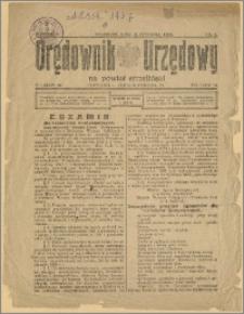 Orędownik Urzędowy na Powiat Strzeliński 1929 Nr 1