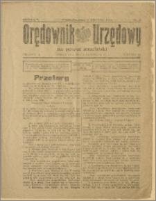 Orędownik Urzędowy na Powiat Strzeliński 1929 Nr 3