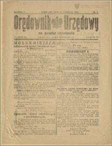 Orędownik Urzędowy na Powiat Strzeliński 1929 Nr 5