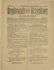 Orędownik Urzędowy na Powiat Strzeliński 1929 Nr 6