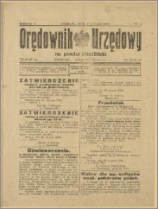 Orędownik Urzędowy na Powiat Strzeliński 1929 Nr 8