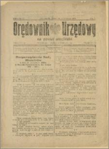 Orędownik Urzędowy na Powiat Strzeliński 1929 Nr 7