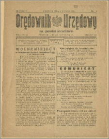Orędownik Urzędowy na Powiat Strzeliński 1929 Nr 9