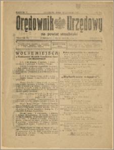 Orędownik Urzędowy na Powiat Strzeliński 1929 Nr 10
