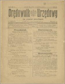 Orędownik Urzędowy na Powiat Strzeliński 1929 Nr 11