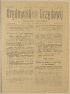 Orędownik Urzędowy na Powiat Strzeliński 1929 Nr 13