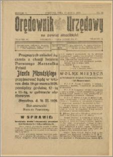 Orędownik Urzędowy na Powiat Strzeliński 1929 Nr 15