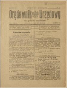 Orędownik Urzędowy na Powiat Strzeliński 1929 Nr 16
