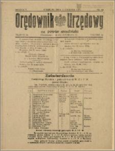 Orędownik Urzędowy na Powiat Strzeliński 1929 Nr 19
