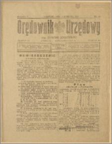 Orędownik Urzędowy na Powiat Strzeliński 1929 Nr 20