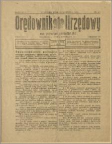 Orędownik Urzędowy na Powiat Strzeliński 1929 Nr 21