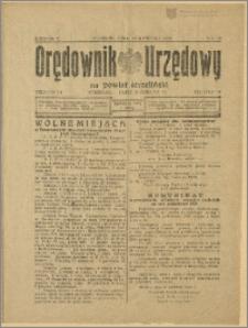 Orędownik Urzędowy na Powiat Strzeliński 1929 Nr 22