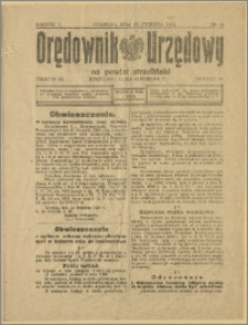 Orędownik Urzędowy na Powiat Strzeliński 1929 Nr 24