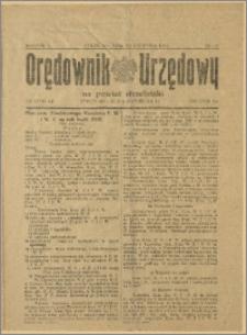Orędownik Urzędowy na Powiat Strzeliński 1929 Nr 25