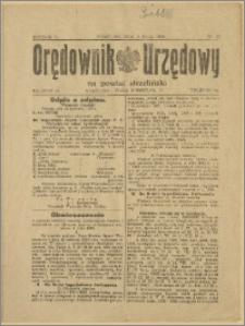 Orędownik Urzędowy na Powiat Strzeliński 1929 Nr 27