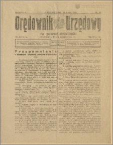 Orędownik Urzędowy na Powiat Strzeliński 1929 Nr 28