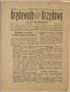Orędownik Urzędowy na Powiat Strzeliński 1929 Nr 29