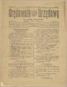 Orędownik Urzędowy na Powiat Strzeliński 1929 Nr 31