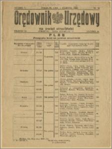 Orędownik Urzędowy na Powiat Strzeliński 1929 Nr 32