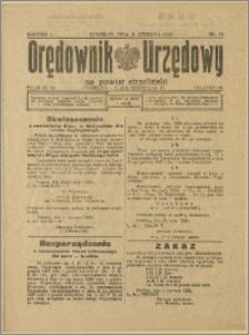 Orędownik Urzędowy na Powiat Strzeliński 1929 Nr 33