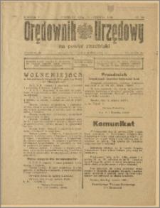 Orędownik Urzędowy na Powiat Strzeliński 1929 Nr 36