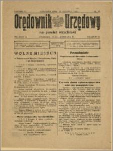 Orędownik Urzędowy na Powiat Strzeliński 1929 Nr 37