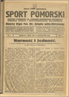 Sport Pomorski 1925 Nr 2