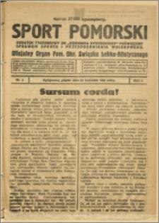 Sport Pomorski 1925 Nr 3