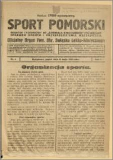 Sport Pomorski 1925 Nr 6